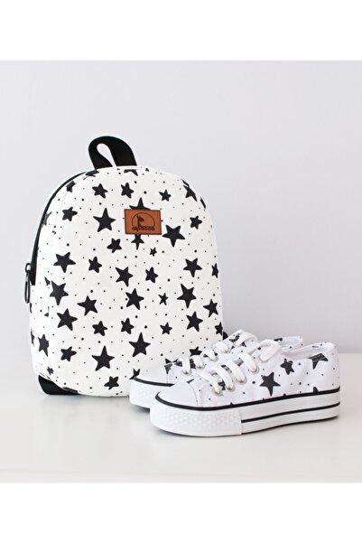 Alpacca Okulun Yıldızı Ayakkabı Çanta Takımı