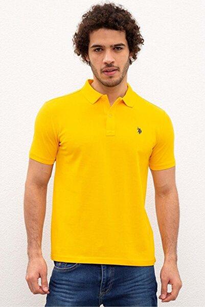 Erkek Sarı Yakalı T-shirt 954055