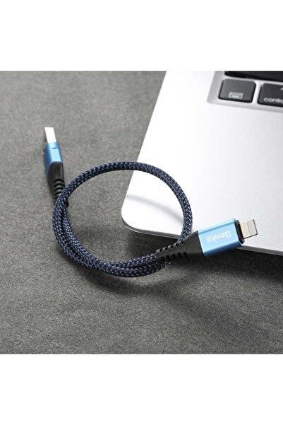 Benks D26 Apple Iphone Hızlı Şarj Veri Aktarım Kablosu 0.25cm