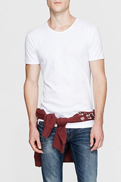 Erkek Beyaz T-Shirt 063747-620