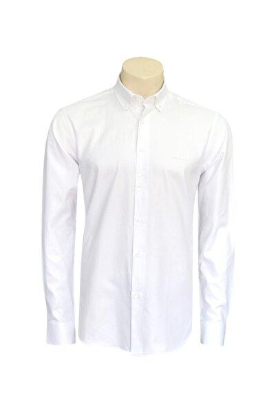 Kappa Rdk Gömlek Leo Beyaz