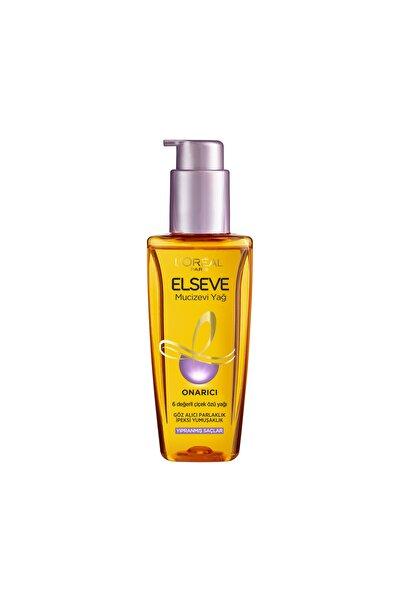 ELSEVE Yıpranmış Saçlar için Mucizevi Saç Bakım Yağı 100 ml