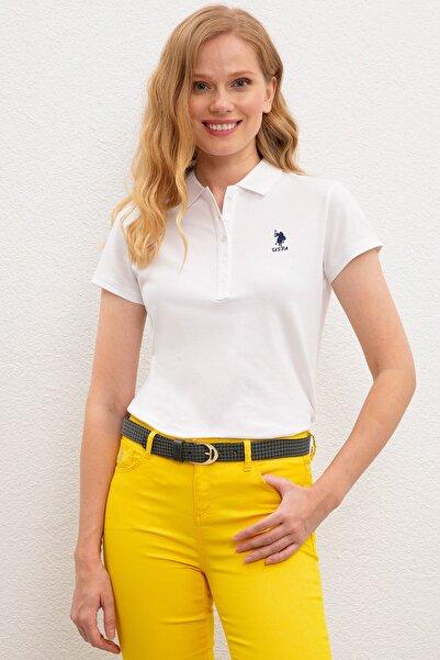U.S. Polo Assn. Kadın Polo Yaka T-Shirt G082SZ011.000.949731