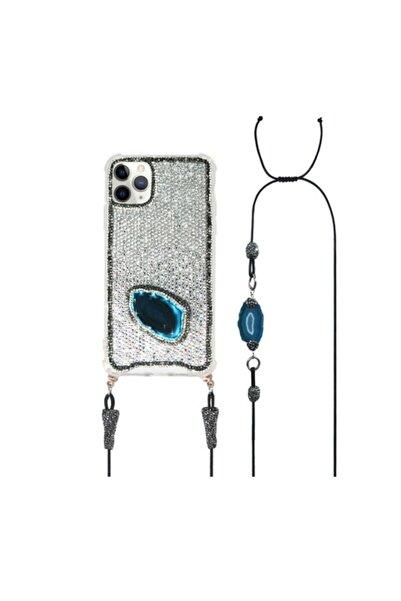 Pitbull NewYork Iphone 11 Pro Max Pitbull Preciosa Ve Akik Boyuna Asmalı Kılıf