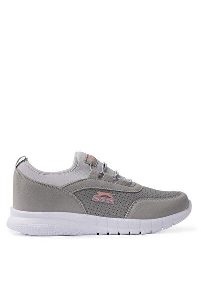 Slazenger Pıno Günlük Giyim Kadın Ayakkabı Gri / Pembe