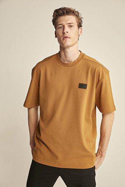 COLT  Kahverengi Erkek Basic Comfort Fit T-shirt