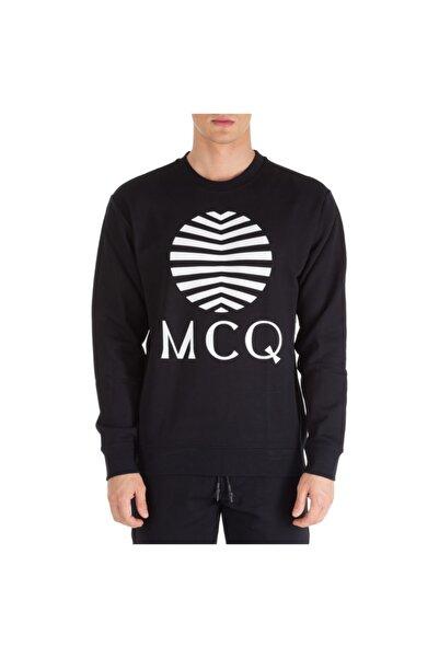 Neck Black Logo Sweatshirt Outlet