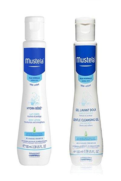Mustela Hydra Bebe Vücut Losyonu 100 ml - Gentle Cleansing Gel 100 ml