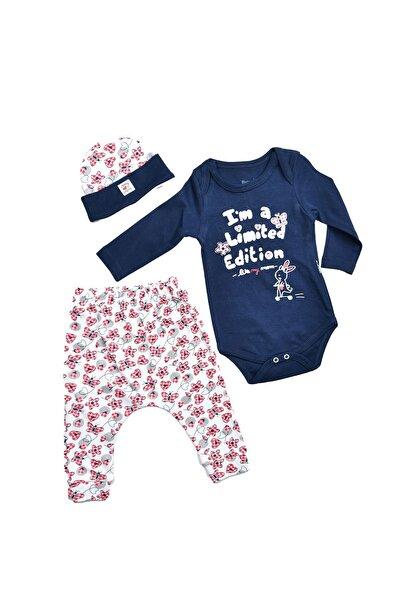 Miniworld Kız Bebek Renkli  3'lü Takım