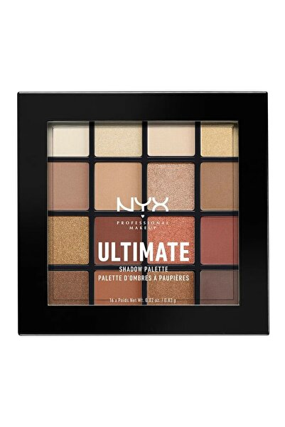 NYX Professional Makeup Göz Farı Paleti - Ultimate Shadow Pallette Warm Neutrals