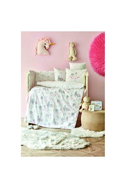 Karaca Home Digna Pembe Cotton Bebek Uyku Seti