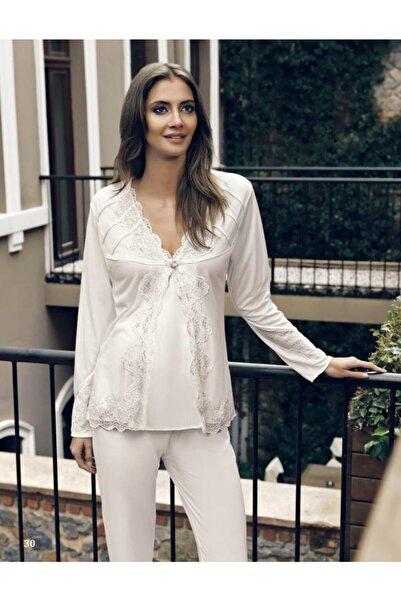 İmaj Miss Charmen 2130 Hamile Pijama Takımı 2'li Lohusa Set