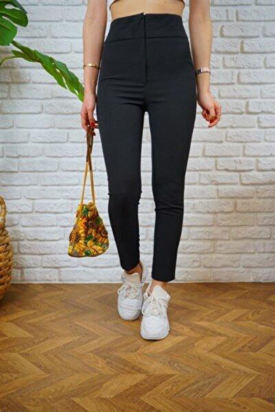 Moda Fima Ultra Yu?ksek Bel Kumas? Pantolon?