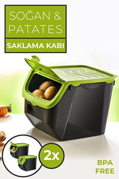 PD-Home Soğan & Patates Saklama Kabı 2'li