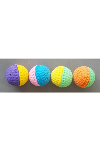 Eastland İki Renkli Sünger Köpek Topu - 4 Adet