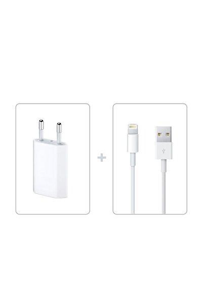 Apple Iphone X Şarj Aleti Seti Adaptör  Kablo