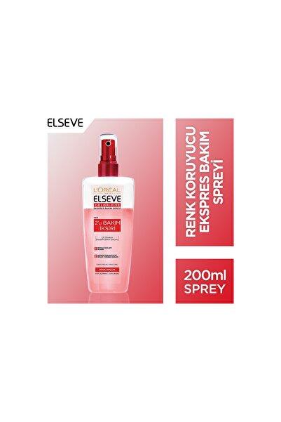 ELSEVE Boyalı Saçlar için Çift Etkili Saç Spreyi 200 ml