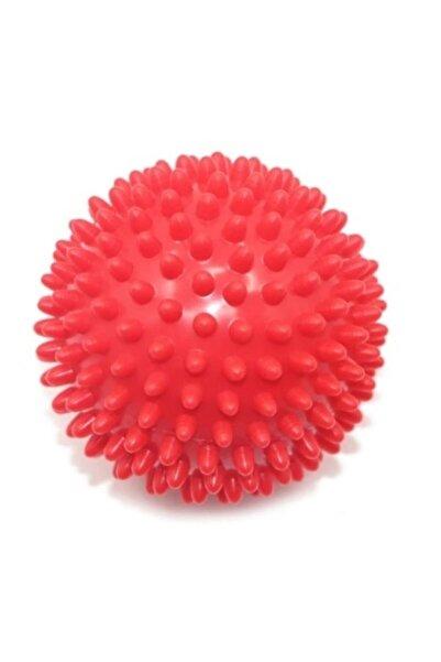 SULING Duyu Uyarıcı,sert Dikenli Masaj Topu 9.5 Cm Kırmızı