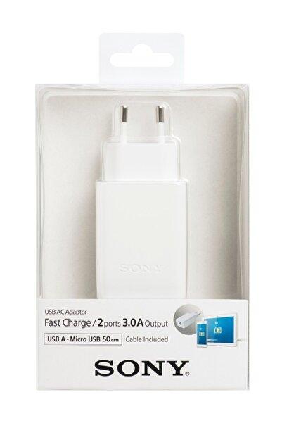 Sony CP-AD2M2 Şarj Aleti Orjinal 3.A CP-AD2M2 Çift USB