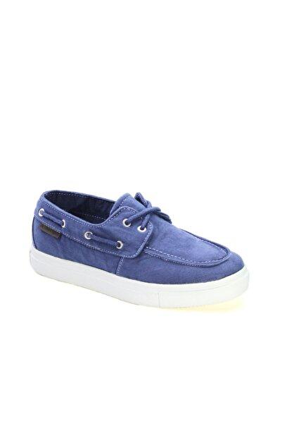 lumberjack Kadın Mavi Bağcıklı Sneaker Ayakkabı