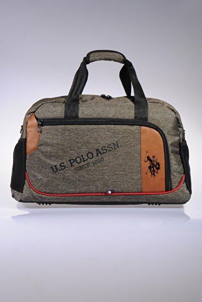 Plduf 8371 Us Polo Assn Orta Boy Yeşil Seyahat Çantası