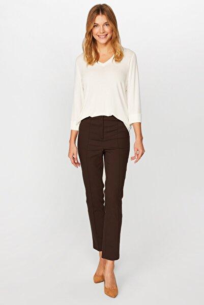 Faik Sönmez Kadın Kahve Pantolon U37057