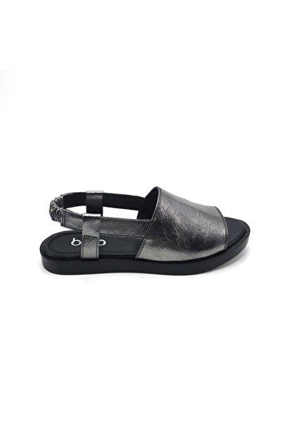 Bella Deri Gümüş Sandalet 597-133