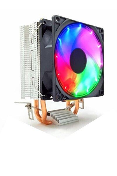 Snowman M200 Rainbow Ledli Cpu Fan