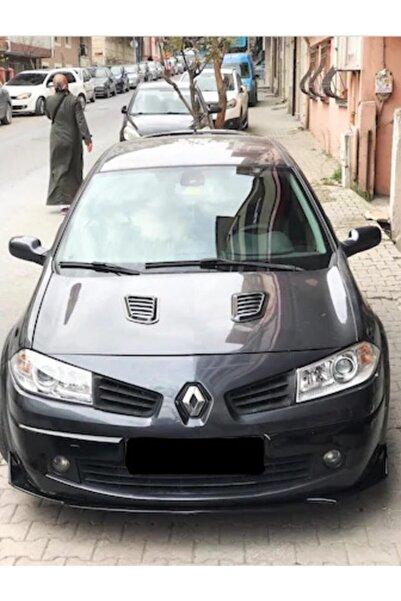 ŞüsCarOto Renault Megane 2 Uyumlu Piano Black Kaput Üstü Havalandırma Izgarası