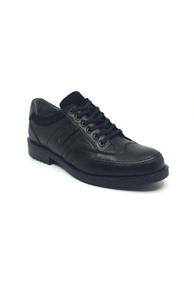 Taşpınar Erkek Siyah Hakiki Deri Klasik Ayakkabı