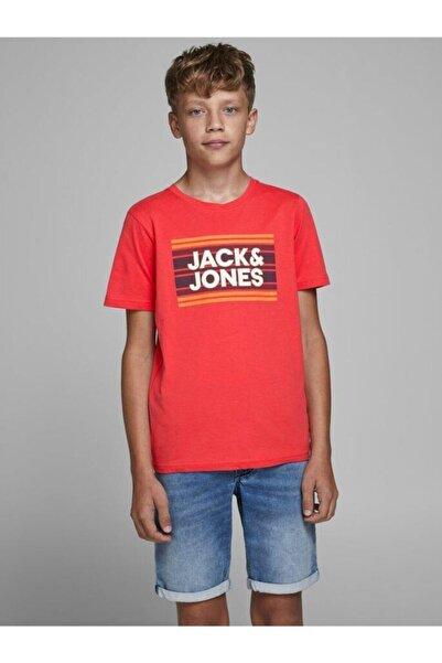 Jack & Jones Jack&jones Jcosıgn Tee Ss Crew Neck Erkek Çocuk T-shirt
