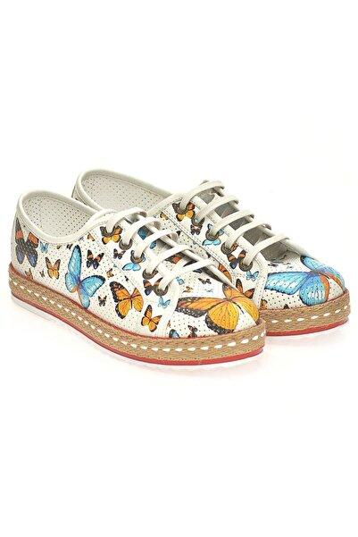 Goby Kadın Beyaz Ayakkabı