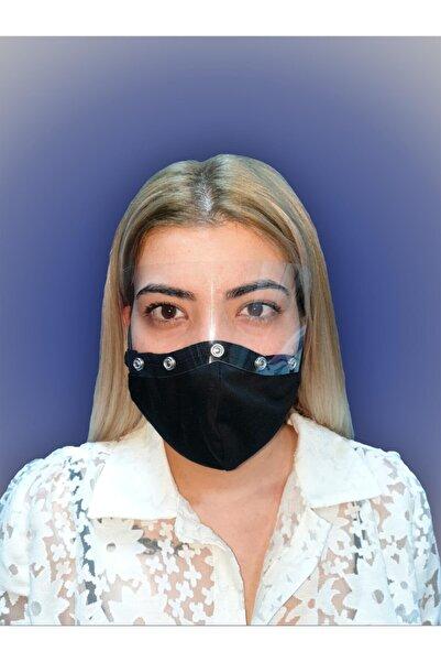 MOF Göz Korumalı Ayarlanabilir Yüz Maskesi