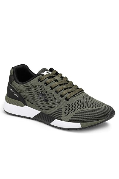 lumberjack Vendor Haki Erkek Sneaker Yürüyüş Günlük Spor Ayakkabı