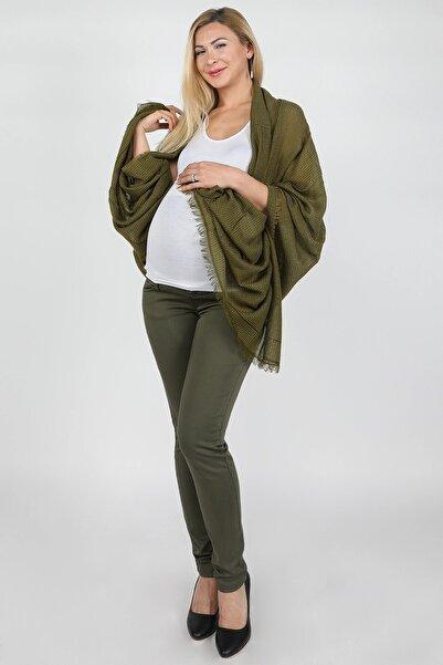 BALİNS Kadın Haki 5 Cepli Hamile Pantolon