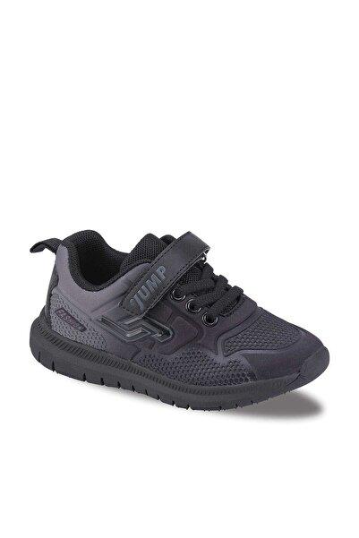 Siyah Gri Çocuk Spor Ayakkabı