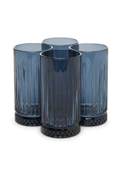 Paşabahçe Elysia 455 cc Mavi 4'lü Meşrubat Bardağı