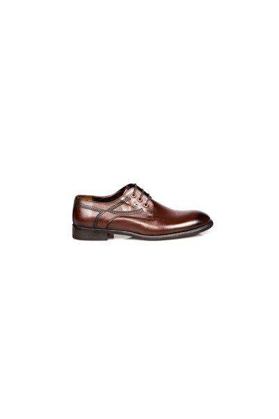 Cacharel Erkek Kahverengi Deri Klasik Ayakkabı