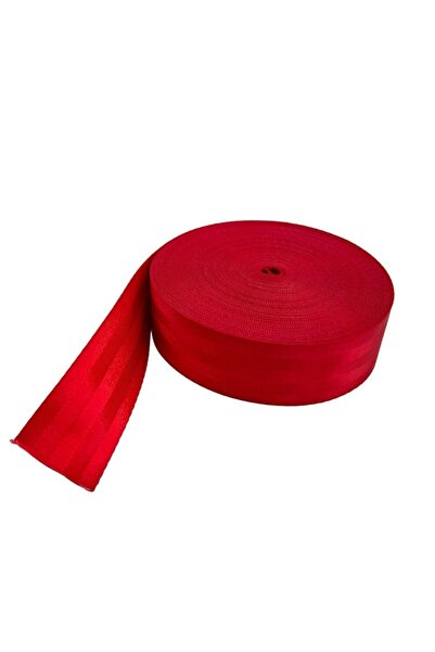 BoostZone Renkli Spor Emniyet Kemeri 10 Metre Kırmızı