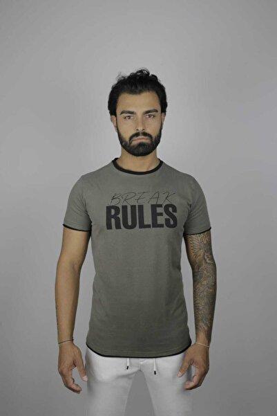 Millionaire Erkek Haki  T-Shirt