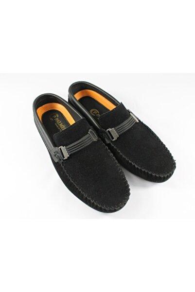 Palmera Siyah Erkek Süet Ayakkabı