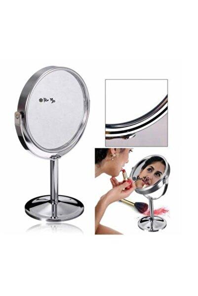 Biotech Makyaj Aynası 3x Büyüteç Çift Taraflı Daire Ayna Paslanmaz Çelik