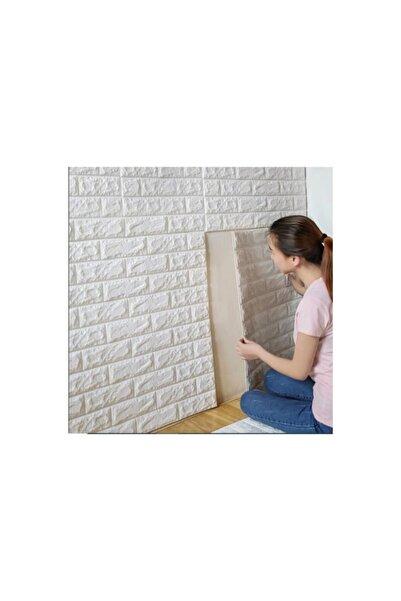 Renkli Duvarlar Kendinden Yapışkanlı Beyaz Duvar Paneli 3d
