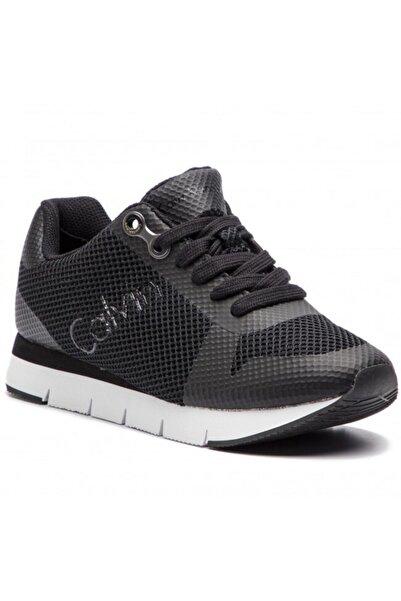 Calvin Klein Kadın Siyah Sneaker R4113