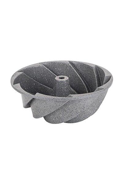 Gri Rüzgargülü Granit Döküm Kek Kalıbı