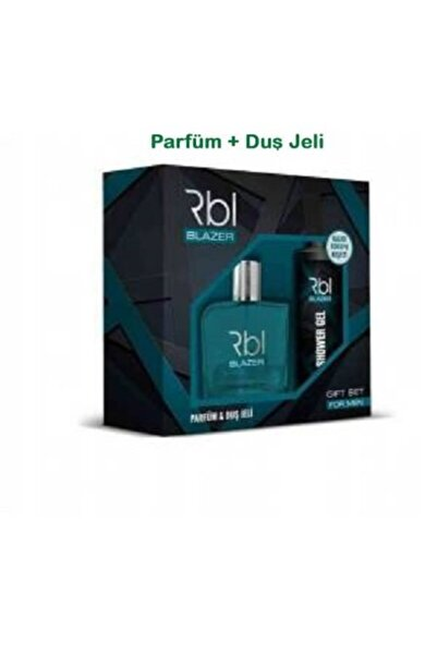 Rebul Orıjınal Rbl Blazer 90 Ml Parfüm + 200 Ml Duş Jeli Ikili Set
