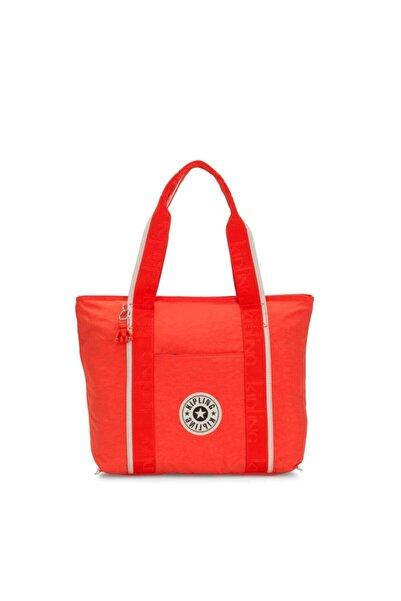 Kipling Kadın Kırmızı Orta Boy Omuz Çantası 117904