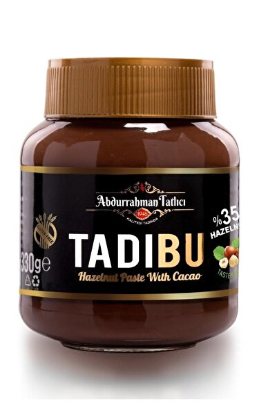Abdurrahman Tatlıcı Tadıbu Kakaolu Fındık Ezmesi Çokokrem 330 gr