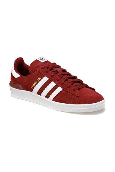 adidas CAMPUS ADV Bordo Erkek Sneaker Ayakkabı 100481280