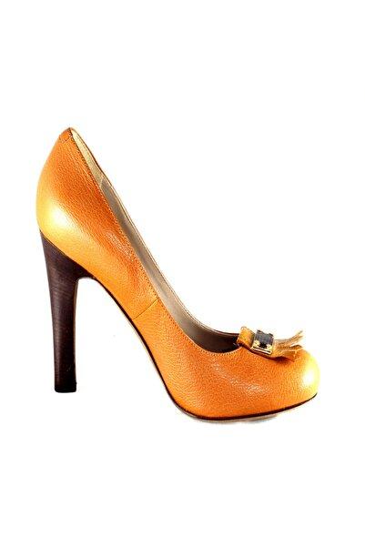 Marc Jacobs Kadın Topuklu Ayakkabı Viski Rengi 615978